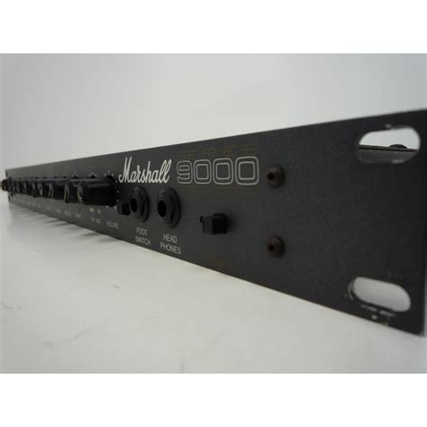 Guitar Rack Pre by Marshall Series 9000 Mgp 9004 Guitar Pre 1u Rackmount
