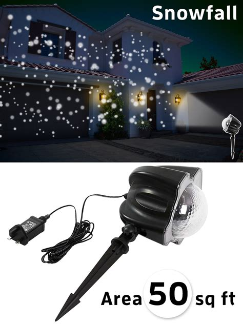 outdoor christmas lights snowfall effect outdoor snowfall light projector snow effect xmas laser