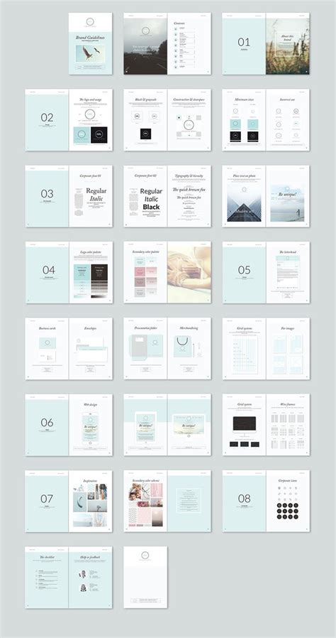 design layout guidelines 25 trending brand manual ideas on pinterest brand