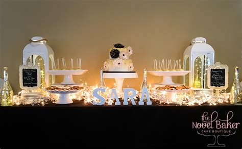 60th birthday table black and white cakes for birthdays choice image
