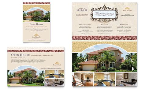 real estate advertising templates luxury real estate flyer ad template design