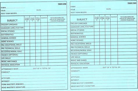 layout of report card school report card design www pixshark com images