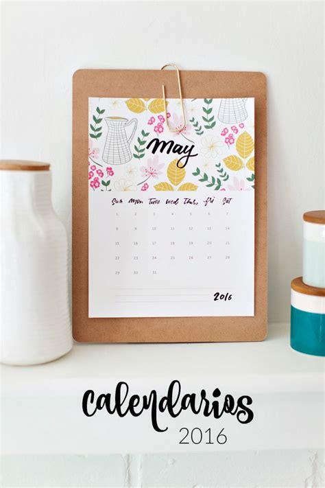 calendario 2016 para imprimir on pinterest calendar las 25 mejores ideas sobre planificador gratuito en