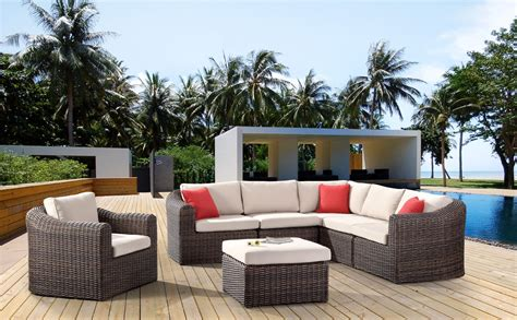 modern furniture sectionals dominica modular modern patio sectionals