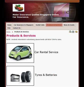 Car Insurance Quote Online Singapore. Motor Insurance
