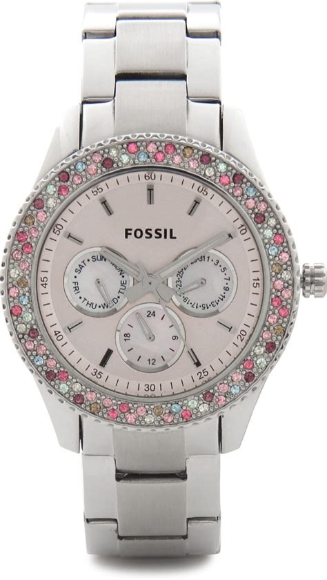 fossil es3050 stella analog for buy fossil