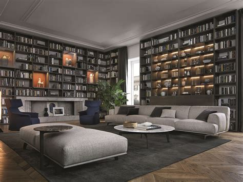 poliform librerie wall system by poliform