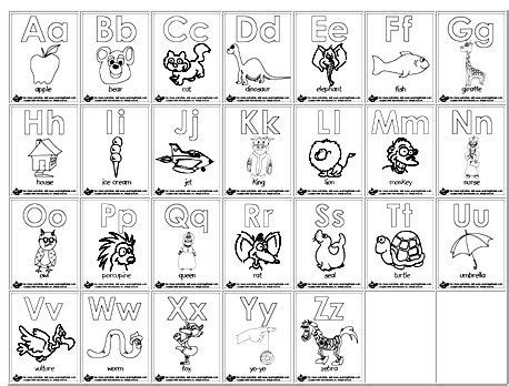 alphabet a b c coloring book books homeschool parent printable alphabet coloring pages