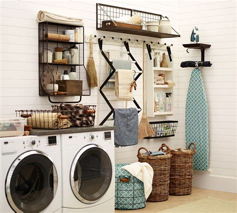Pottery Barn Laundry Room 10 organizing tips from a pottery barn designer