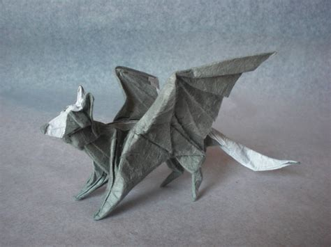 wolf origami fascinating and slightly origami hybrid creatures