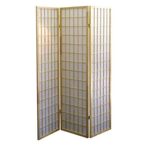 room dividers home depot home decorators collection 3 panel fiber room divider in finish r531 the home