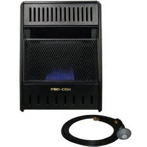 propane heater home depot procom 14 in vent free propane heater ml100tbahr the