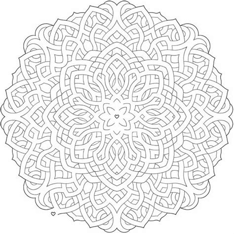 nature mandalas coloring book pdf welcome to dover publications printables