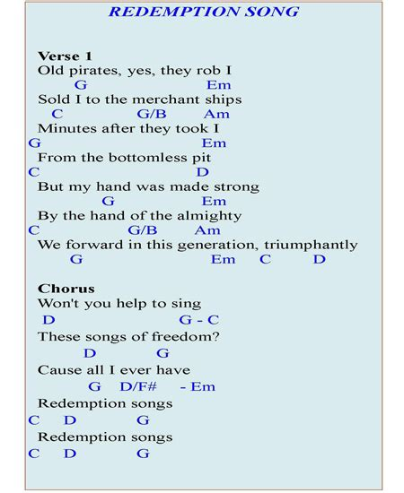 Bridge Of Light Lyrics Redemption Song Piano Chords Learn To Play It On The Piano