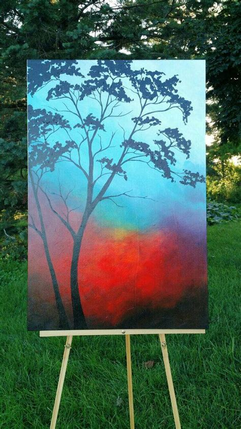 acrylic tree 25 trending tree paintings ideas on paintings
