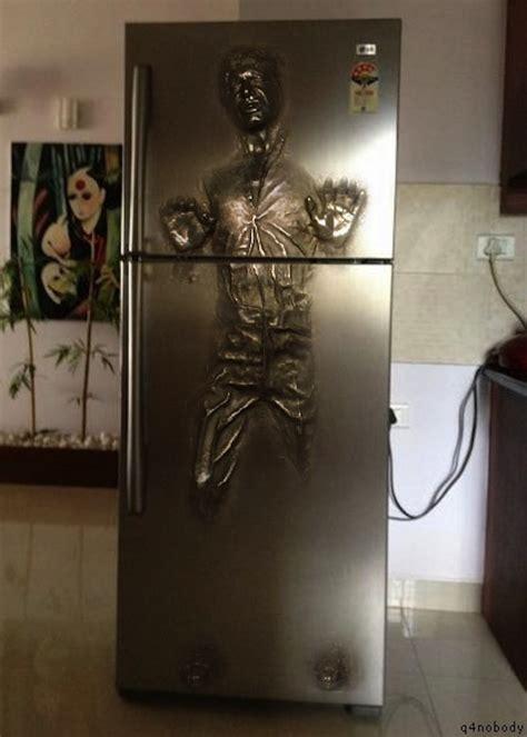 Han Frozen In Carbonite Desk by Han Frozen In Carbonite Refrigerator Geektyrant