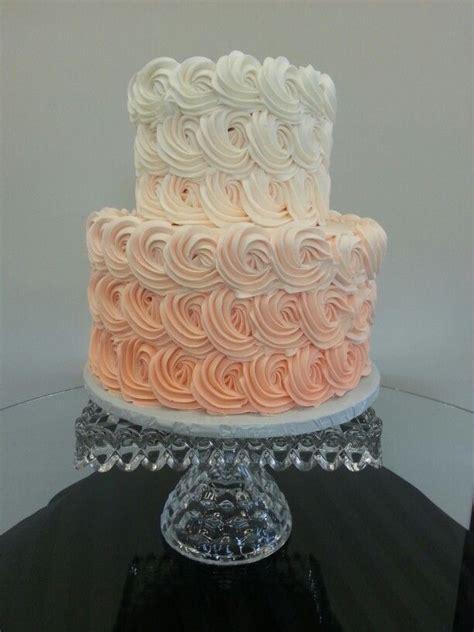 Ombreral  Tier Wedding Cake Cake Chic Studio Sweet