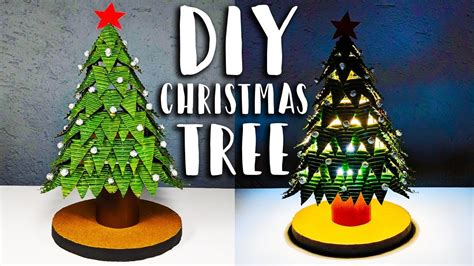 how to make a christmas tree night l decoration diy at