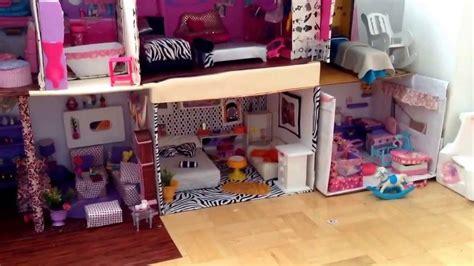 videos de casas de barbie como hacer la casa de barbie o mu 241 ecas de tu preferencia