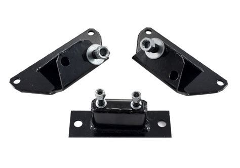 mustang solid motor mounts 1984 1995 mustang 5 0l black solid motor mounts and
