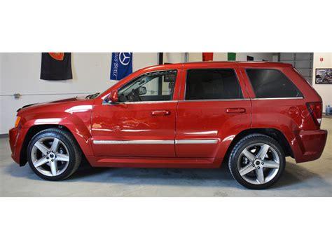 jeep srt 2006 2006 jeep grand srt 8 na prodej