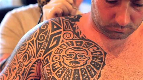 max s tattoo studio tribal tattoo with polynesian style