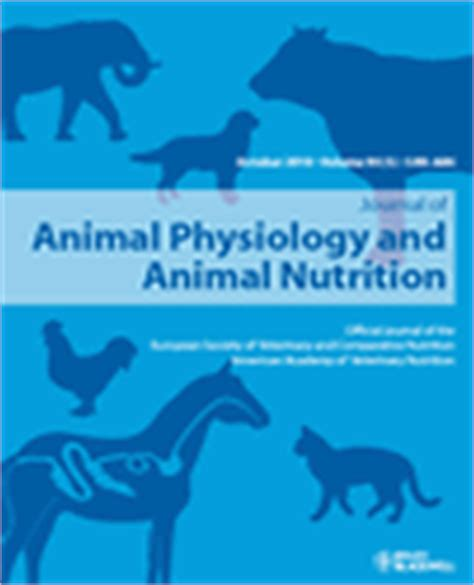 j dietary supplements impact factor journal of animal physiology and animal nutrition evisa