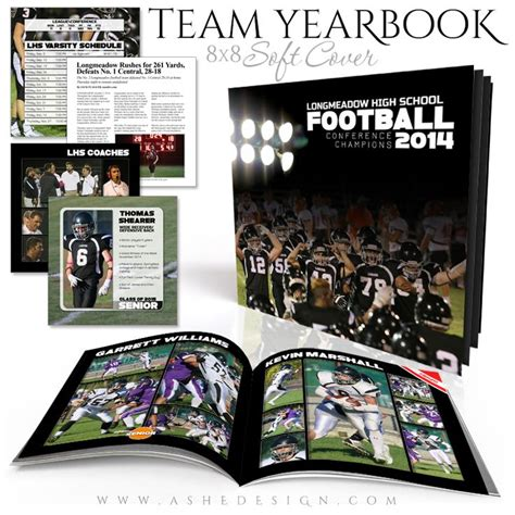 yearbook layout templates photoshop photo book soft cover 8x8 simply sports yearbook