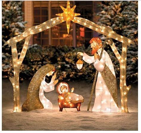 best 25 outdoor nativity sets ideas on pinterest