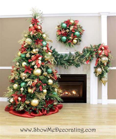 garland ideas 25 awesome christmas tree decorating ideas designmaz