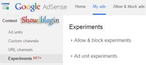 adsense experiments increase adsense earnings by changing ad settings with