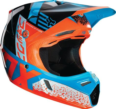 closeout motocross helmets 299 95 fox racing youth v3 divizion mips dot helmet 234840