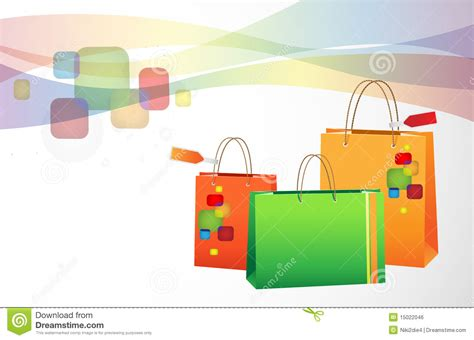 Shopping Background Royalty Free Stock Image Image 15022046 Design In Colored Paper L
