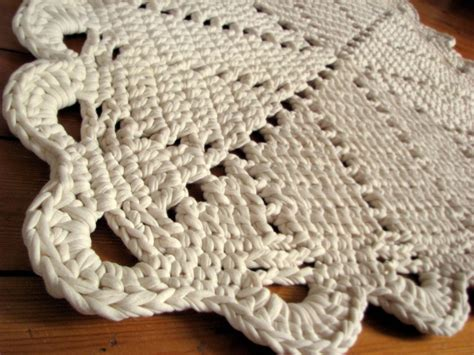 crochet area rug square rug crochet area rug 80x80cm 31x31 inch wh