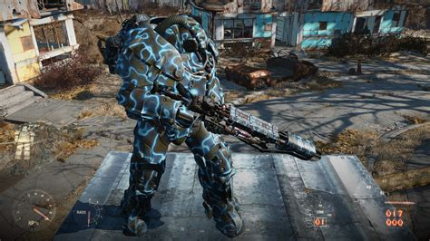 thunderstruck 5 new mods for the gauss rifle new meshes and power armour paint all tiers