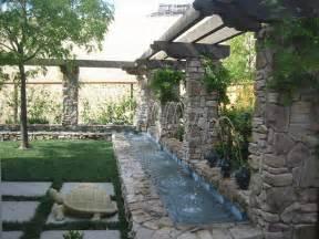 backyard waterfall design backyard and patios