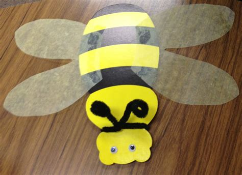 bee craft for bee crafts the loudest librarian