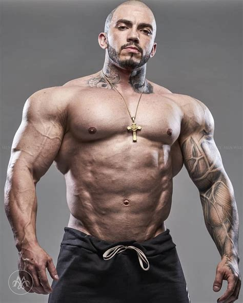 chest tattoo bodybuilding matheus donaire follow men weekly for more pictures of