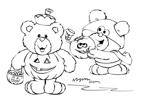 free printable cute halloween coloring pages 507101