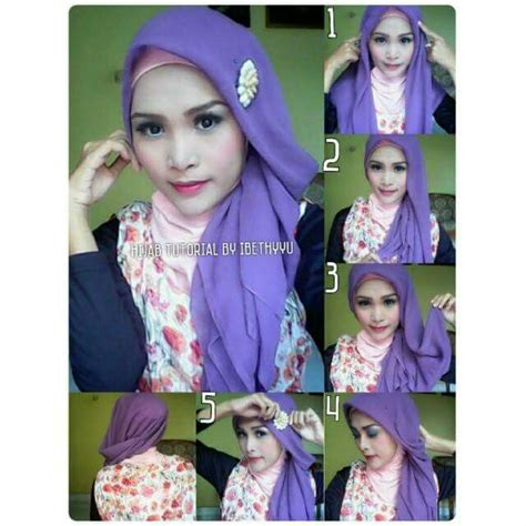 clozette indonesia tutorial hijab paris 317 best images about hijab tutorial on pinterest