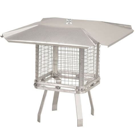 home depot chimney cap imperial universal aluminum chimney cap the home depot