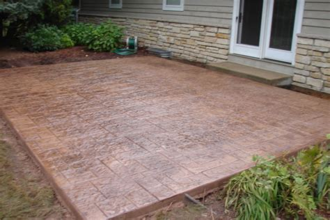 mequon wi sted concrete patio installation jbs