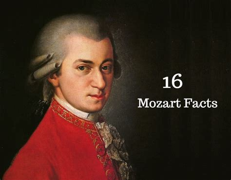 wolfgang amadeus mozart biography facts 16 mozart facts interesting facts about wolfgang amadeus