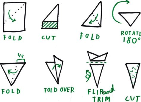 How To Fold Paper To Make Snowflakes - snowflakes 171 ucla