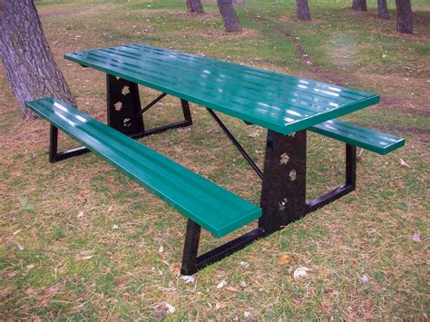 metal picnic benches white picnic tables benches american hwy