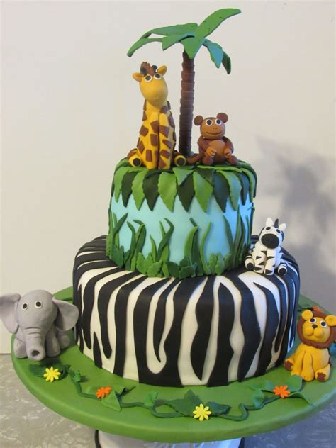 Jungle Cake   CakeCentral.com