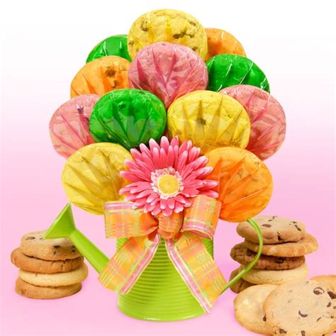 cookie bouquets watering can gourmet cookie bouquet cookie bouquets