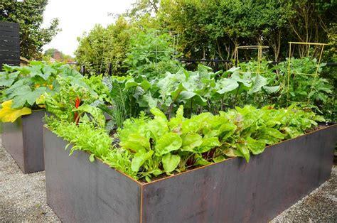 Queen Anne Steel Raised Bed Garden ? Seattle Urban Farm