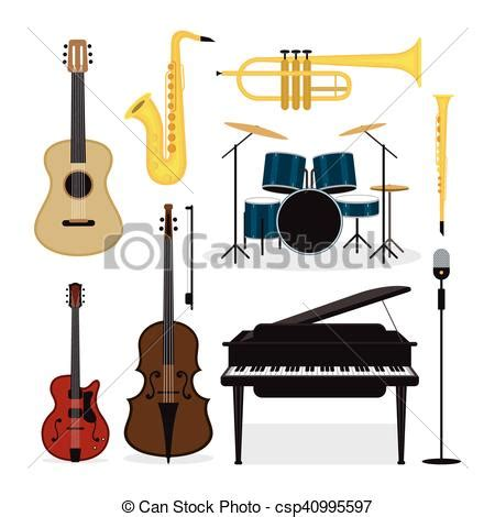 what instruments can be found in the jazz rhythm section gr 225 ficos vectoriales eps de instrumentos jazz conjunto