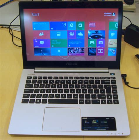 Laptop Asus Vivo Book S400 asus launches windows 8 compatible notebooks tablets and aios updated with taichi and